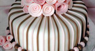 صورة اجمل كيكة عيد ميلاد , كيكة عيد ميلاد جميلة و مميزة
