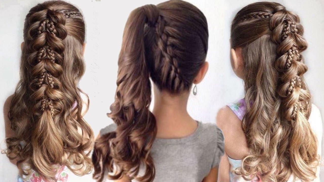 صورة تسريحات شعر بسيطة للمراهقات , روع واحلى تسريحه شعر