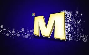 صورة اجمل اشكال حرف m , حرف الام يشكل جديد