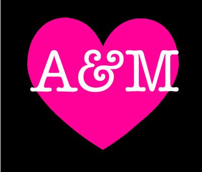 صورة صور حرف a و m , حروف الحب a و m