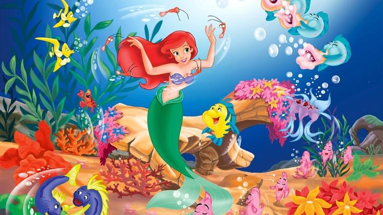 صورة قصة عروس البحر , كرتون عروسه البحر للطفل
