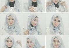 صور طرق لف الحجاب التركي , ابسط طريقه للف الطرحة تركي