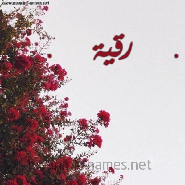 اجمل رمزيات عن اسم رقيه 3