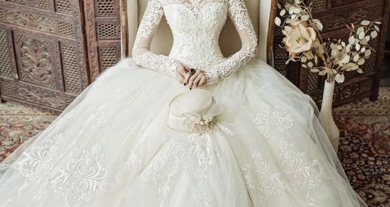 صورة فساتين افراح 2019 , جديد من فستان العروسه