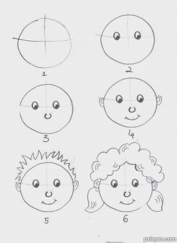 خطوات تعليم الرسم خطوات سهله ومبسطه للمبتدئين عتاب وزعل