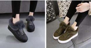 صورة صور احذية الشتاء للبنات 2019 , ازياء شتويه روعه 3242 12 310x165
