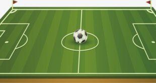 صورة رسم ملعب كرة القدم , اجمل الرسومات لملاعب كرة القدم