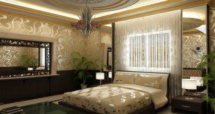 ديكورات غرف النوم الرئيسية , احدث ديكورات لغرف النوم