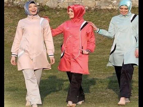 صور ملابس رياضية للمحجبات , اطلاله سبورتس للنساء المحجبات