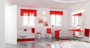 صور ديكورات حمامات , غرف تواليت فريده التصميم