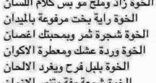 صورة شعر عن الصديق عراقي , خواطر وكلمات عن الخل الوفي