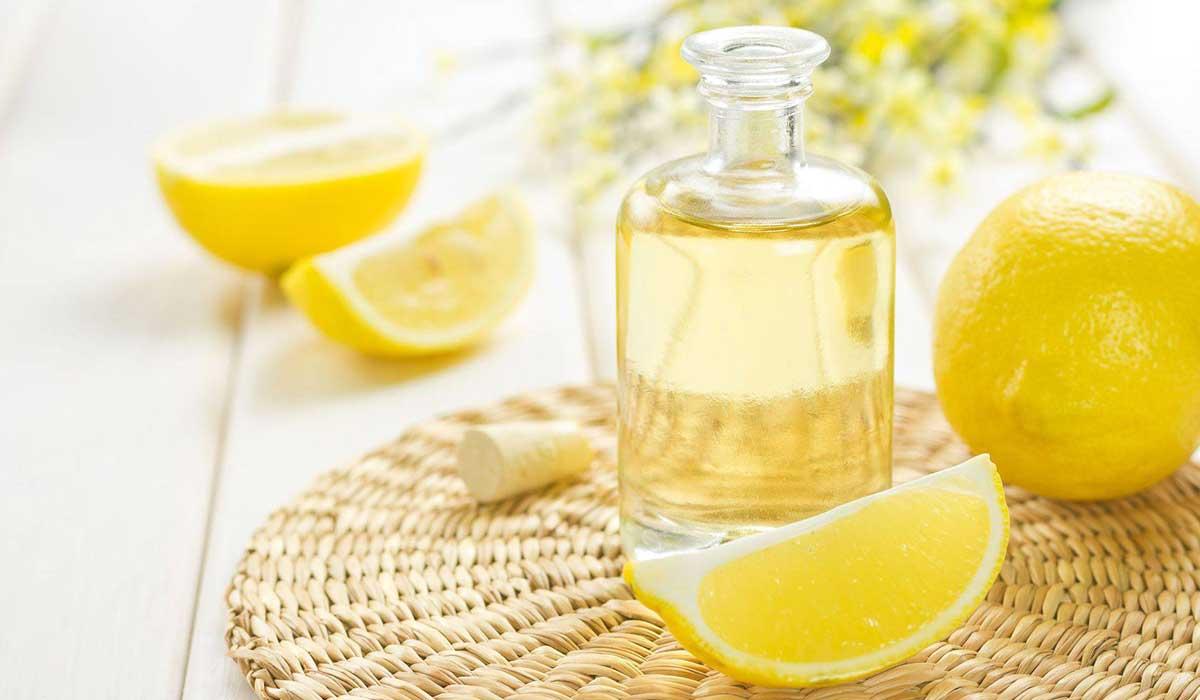 صورة زيت الليمون للشعر , فوائد زيت الليمون
