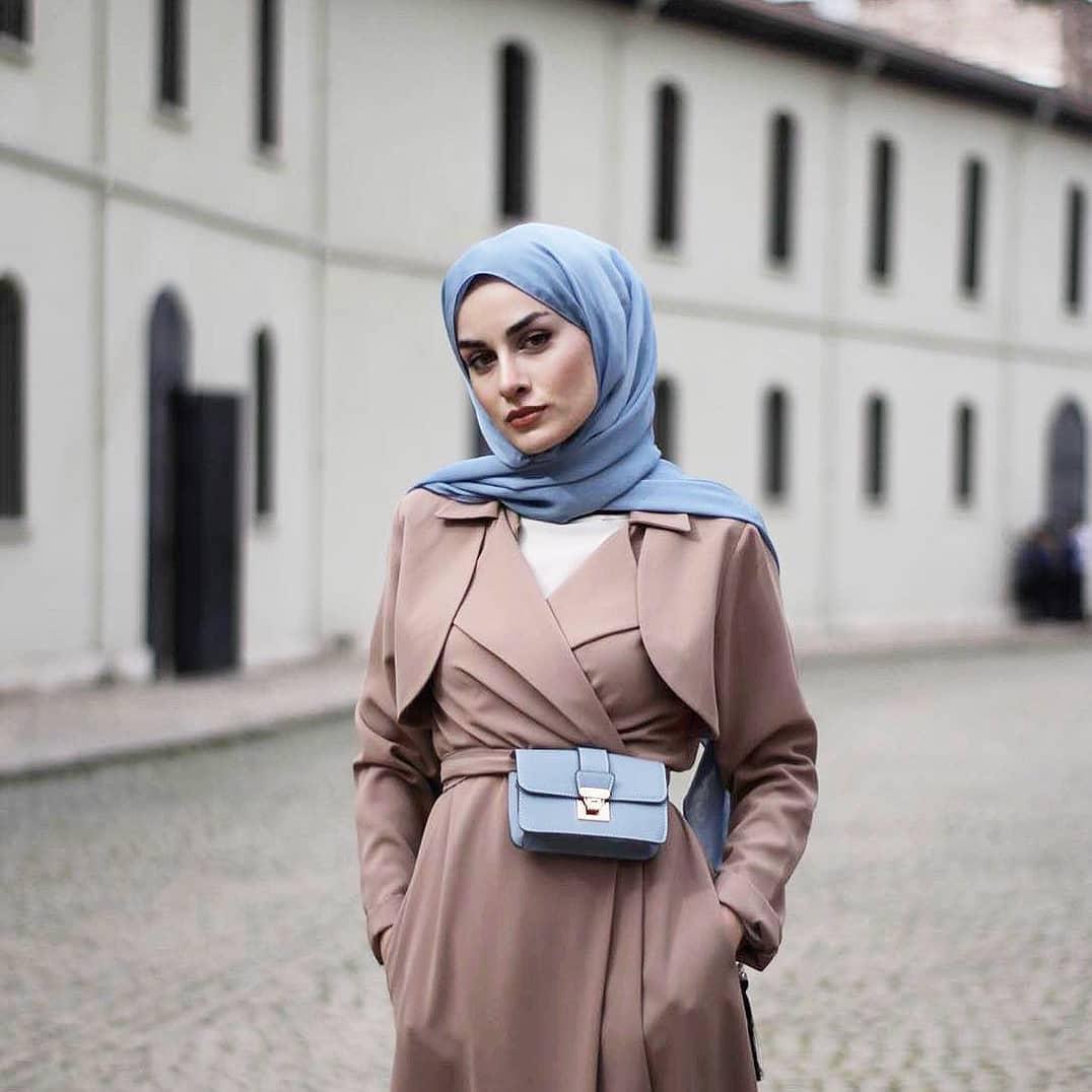 صورة كيف انسق ملابسي مع الحجاب , طريقة تنسيق ملابسي مع الحجاب