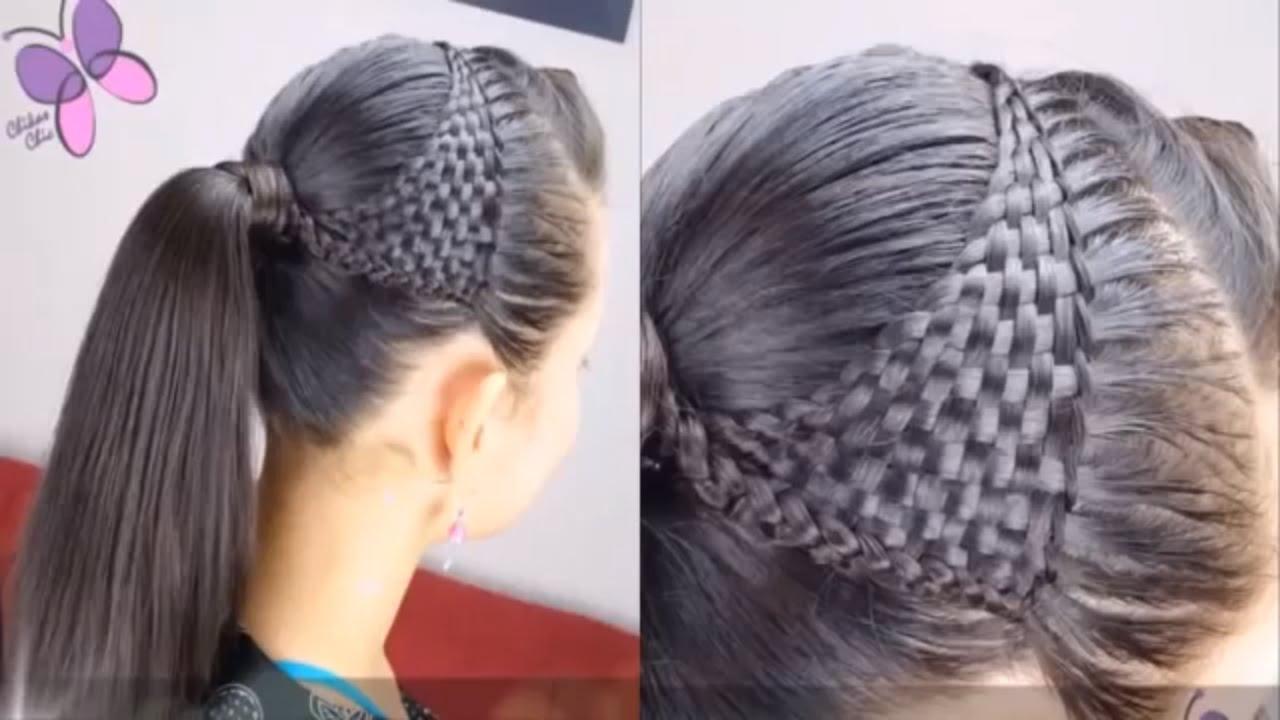 صورة عمل تسريحات للشعر , احدث طريقة لعمل تسريحة شعر روعه