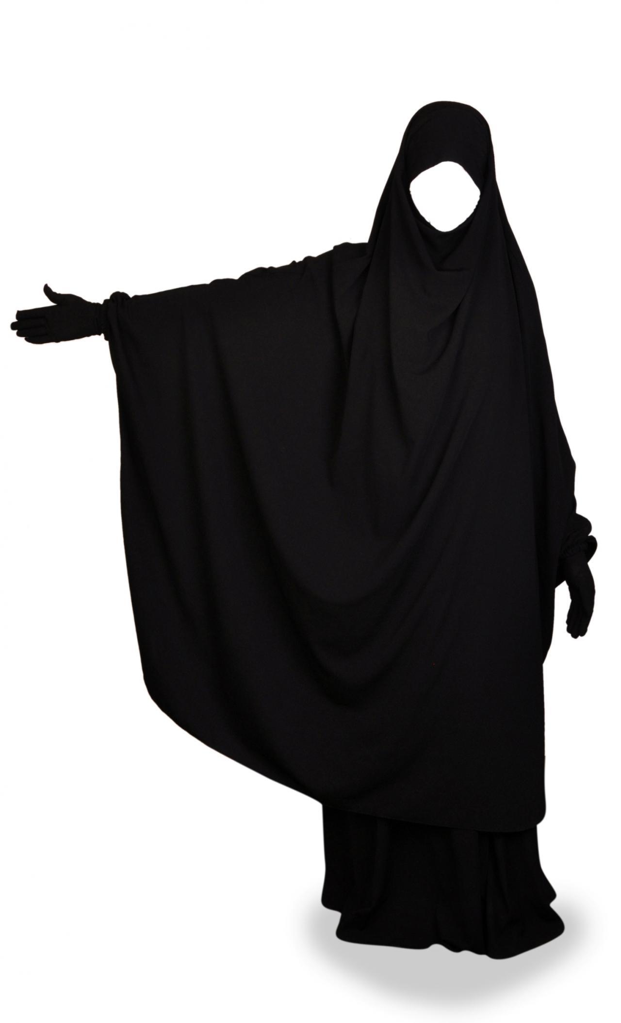 صورة تفسير حلم لبس العباءة السوداء للحامل , تفسير رؤية بس عباية سوداء للحامل