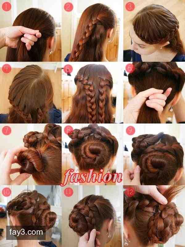 صور تعليم تسريحات الشعر للاطفال , احلي تسريحات الشعر للاطفال