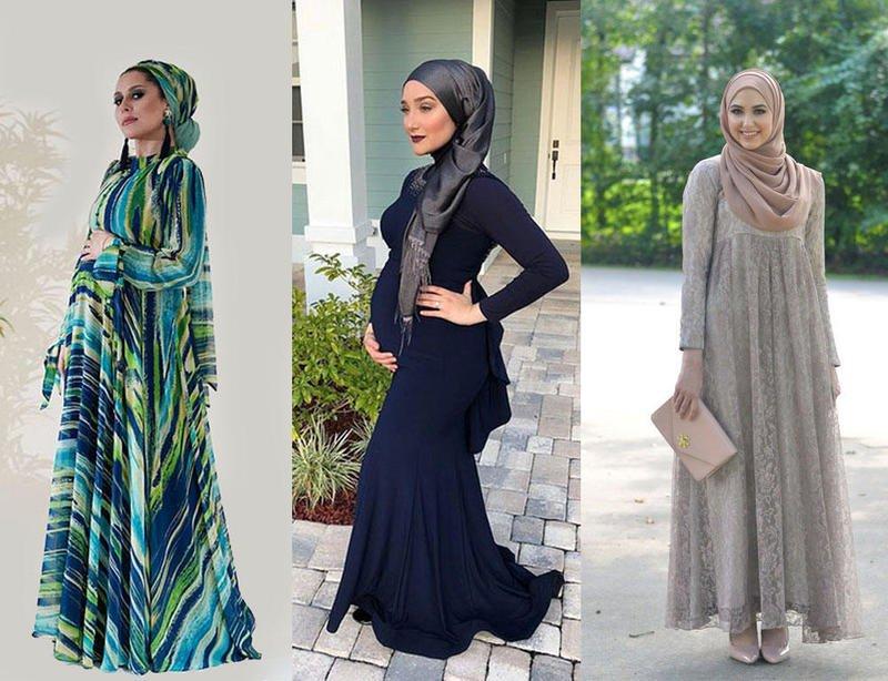 صورة ملابس محجبات للحوامل , اروع ازياء الحوامل