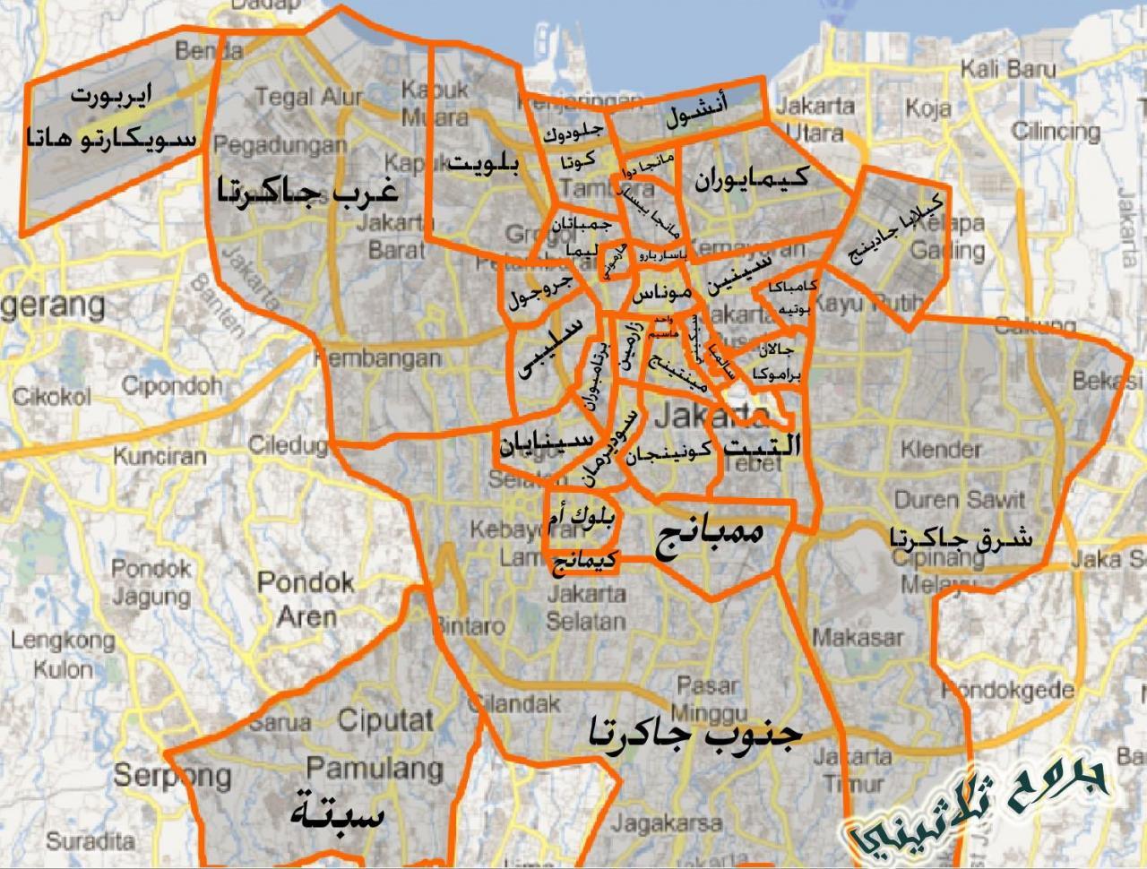 صور خريطة احياء جدة , تقسيم احياء جدة