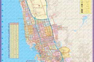 صورة خريطة احياء جدة , تقسيم احياء جدة