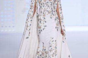 صور تطريز بالخرز على الفساتين , اروع الفساتين المطرزة