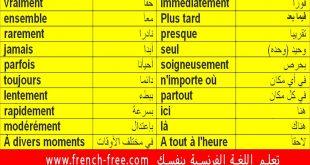 صورة تعليم اللغة الفرنسية للمبتدئين بالصوت والصورة , اساسيات اللغة الفرنسية