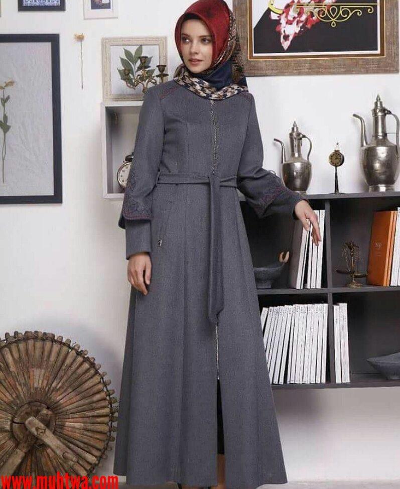 صورة موديلات جلابيب تركية , احدث ملابس تركية للمراة