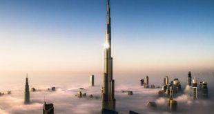 صورة عدد طوابق برج خليفة , من كم طابق يتكون برج خليفه