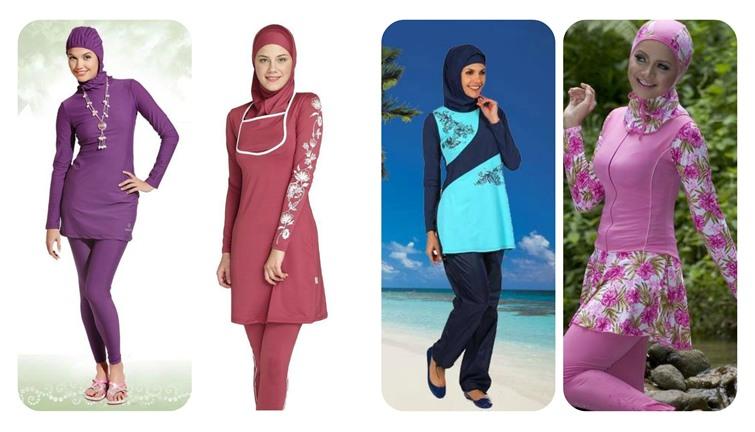 صورة مايوه شرعي للمحجبات في مصر , موديلات ملابس سباحه خاصة بالمحجبات