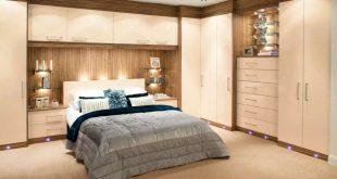 صور غرف نوم عرايس للمساحات الصغيرة , ستايلات اوض نوم للعروس محدودة المساحه