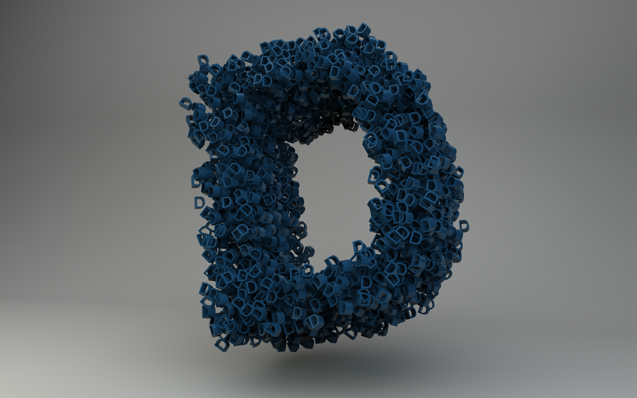 صورة حرف د بالانجليزي , رمزيات حرف D