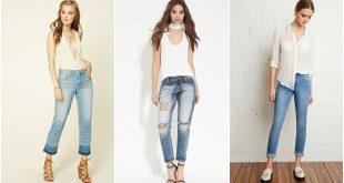 صور اجمل بناطيل جينز , كلكشن موديلات بنطلونات جينز