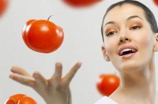 صورة فوائد اكل الطماطم للبشرة , حقائق مذهلة عن تناول البندورة للبشره