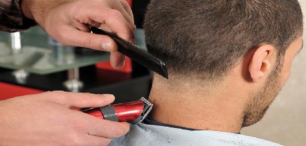 صور تفسير حلق الشعر , رؤية حلاقة الشعر فى المنام