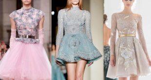 صور فساتين قصيرة للسهرات , ازياء قصار الفساتين السواريه