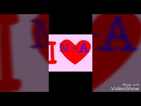 صورة صور حرف aوm , صور جميله جدا تجمع بين حرفي الm و a