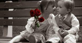 صورة صور اطفال رومانسيه , برائه اطفال رومانسيه