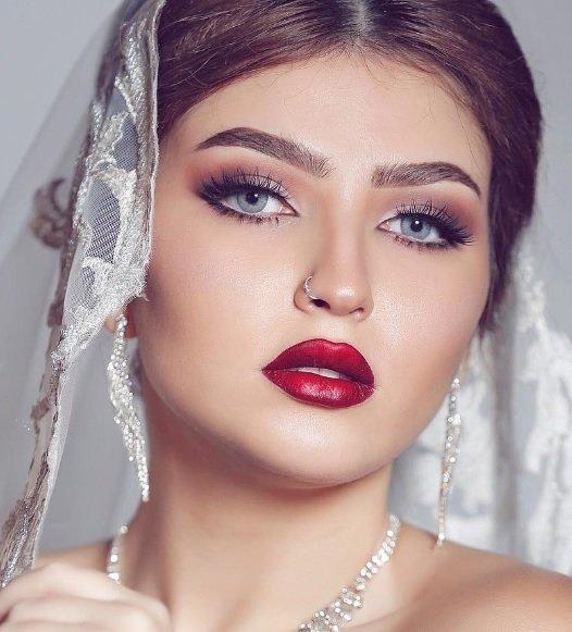 صور صور مكياج عروس , مكياج العروسه بااشكال تجنن