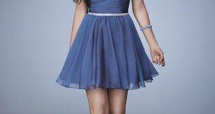 صورة صور فساتين سهرة قصيرة , انواع و اشكال الفساتين القصيره