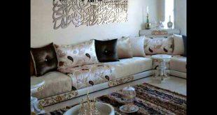 صورة صالونات مغربية عصرية , تصاميم علي الموضة لاجمل صالون مغربي