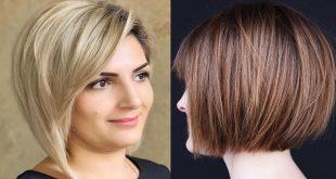 صورة قصات شعر قصيرة , احدث صيحات الموضة لقصات الشعر القصير