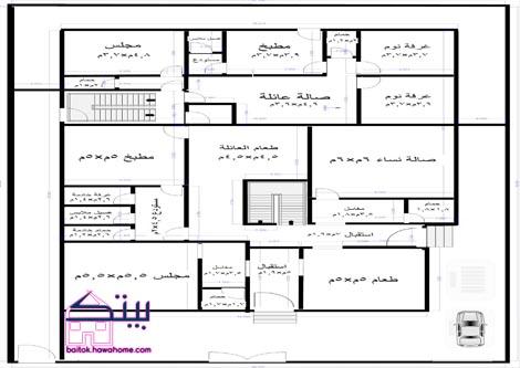 صورة مخطط بناء منزل 1476 2