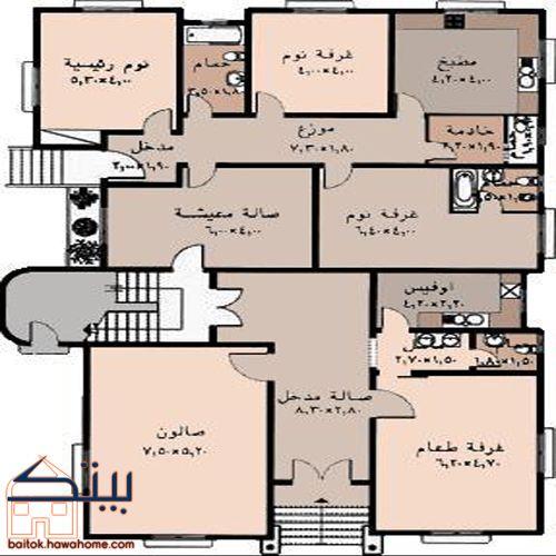 صورة مخطط بناء منزل 1476 3
