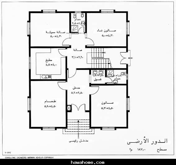 صورة مخطط بناء منزل 1476 4