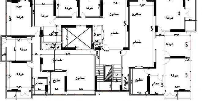 صورة مخطط بناء منزل 1476 7