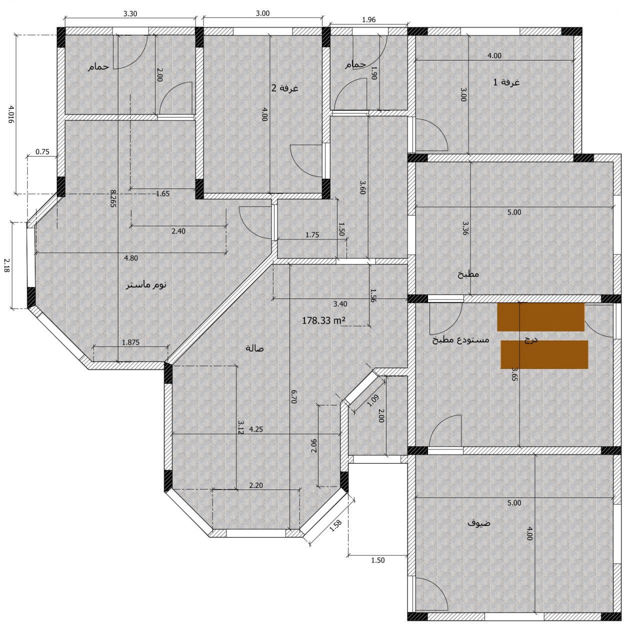 صورة مخطط بناء منزل 1476